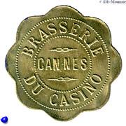 75 Centimes - Brasserie du Casino (Cannes) – obverse