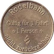 Token - Bauern Park (Rodelbahn) – reverse