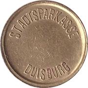 Safe deposit token - Stadtsparkasse Duisburg – obverse