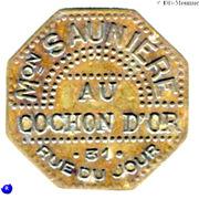 2 Francs -  Maison Saunière - Au cochon d'Or - Paris [75] – obverse
