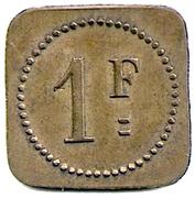 1 Franc - Eden - Saint Etienne [42] – reverse