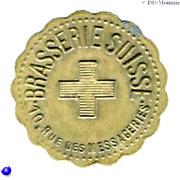 3 Francs - Brasserie Suisse - Paris [75] – obverse