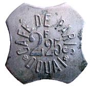 2,25 francs - Café de Paris - Douai (59) – obverse