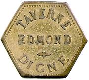 2 Francs - Taverne Edmond - Digne [04] – obverse