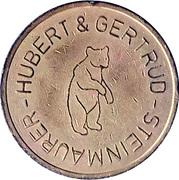 Token - Steinmaurer Hubert & Gertrud – reverse