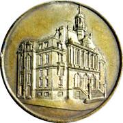 Médailles inauguration de l'hôtel de ville d'Asnières – obverse