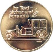 Token - Tele-taxi, Ernst Hess (Luzern) – obverse