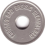 Public Swimming Pool Token - Bad Breisig (Kurhaus) – obverse