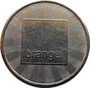 Token - Orange – reverse