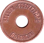 Public Swimming Pool Token - Bornheim (youth) – obverse