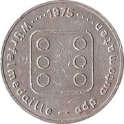 Game Token - adp automaten (Copper-nickel) – obverse