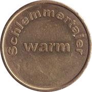 Token - Schlemmertaler warm – obverse