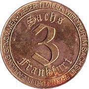 3 Frankfurter Sachsthaler – obverse