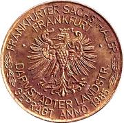 3 Frankfurter Sachsthaler – reverse