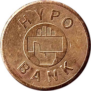 Safe deposit token - Hypo Bank (Karnten) – obverse