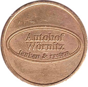 Car Wash Token - Autohof Wornitz – obverse