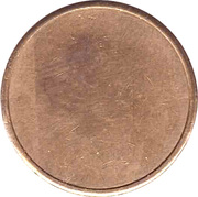 Car Wash Token - Autohof Wornitz – reverse