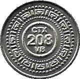 Token - CTX 208 VB – obverse
