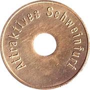 Token - Attraktives Schweinfurt (narrow font) – reverse
