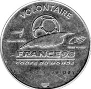 Token - France 98 FIFA World Cup – obverse