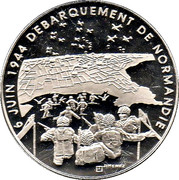 Token - World War II (Normandy landings) – obverse
