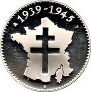 Token - World War II (Normandy landings) – reverse