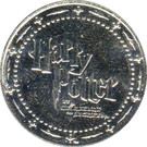 Token - Harry Potter and the Chamber of Secrets (Serpentard / Slytherin) – reverse