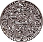 Token - Cafes Legal (Daalder Pays bas 1589) – reverse