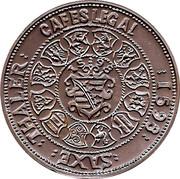 Token - Cafes Legal (Saxe Thaler 1598) – obverse