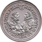 Token - Cafes Legal (Saxe Thaler 1598) – reverse