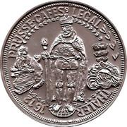 Token - Cafes Legal (Thaler Prusse 1612) – obverse