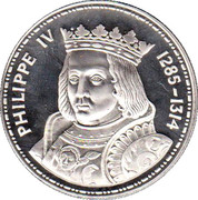 jeton medaille philippe IV 1285 1314 – obverse