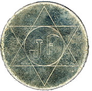 Jeton JF – reverse