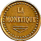 Jeton LA MONETIQUE – obverse