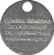 Shopping Cart Token - Correze – reverse