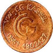 Token - Käfer-Club Kassel – reverse