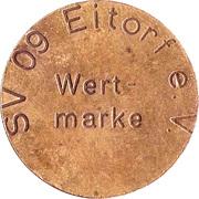 Token -  SV 09 Eitorf e.V. – obverse