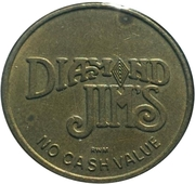 Token - Diamond Jim's (No Cash Value) – obverse