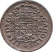 Token - Cafes Legal (2 Reaux Espagne 1771) – reverse