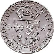 Token - Cafes Legal (Maris Stuart - Gros d 'ecosse 1560) – reverse