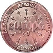 Token - Europa – reverse