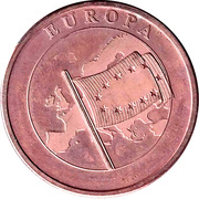 Token - Europa – obverse