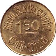 1.50 Gold Thaler - Klein-Kleckersdorf – obverse