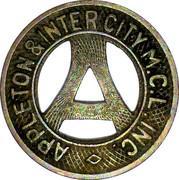 1 Fare - Appleton & Intercity M.C.L. Inc. (Appleton, Wisconsin) – obverse