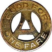 1 Fare - Appleton & Intercity M.C.L. Inc. (Appleton, Wisconsin) – reverse