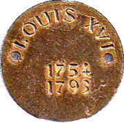 Token - Louis XVI – reverse