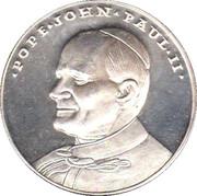 Medaille Pope John Paul II – obverse