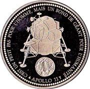 Le premier homme sur la Lune  - 21 Juillet 1969 – reverse