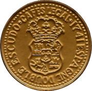 Token - Cafes Legal (Double Escudo Espagne 1741) – obverse