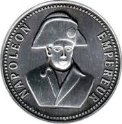 Médaille Napoléon 1 er ( Editions Atlas ) – obverse
